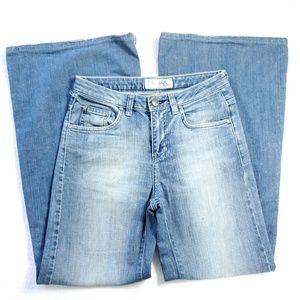 Zara TRF Denim Rules Vtg Ultra Flare Jeans (D6)
